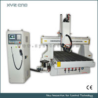 4 axis CNC Router with spindle rotate for arc-surface milling/bend surface machining for 3D jobs/ special shaped arts