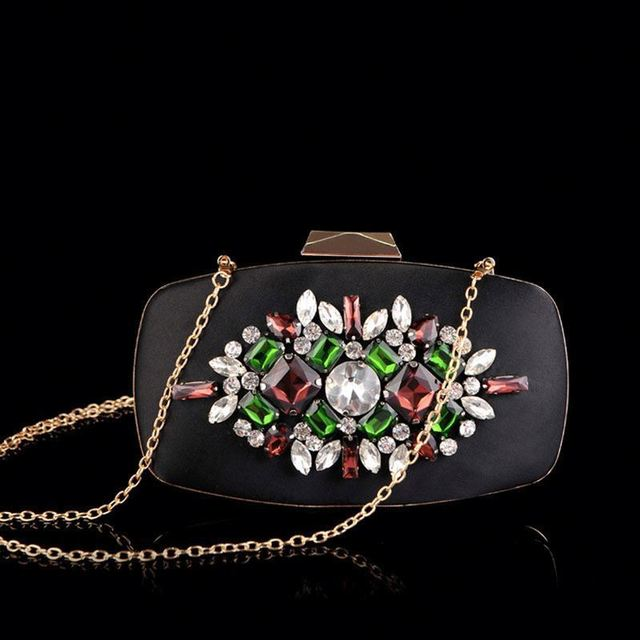 European and American Brand Women handmade embroidered clutch bag 2017