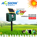Aosion 2016 Patented Solar Power Ultrasonic Raccoon Repeller Made in Shenzhen AN-B040