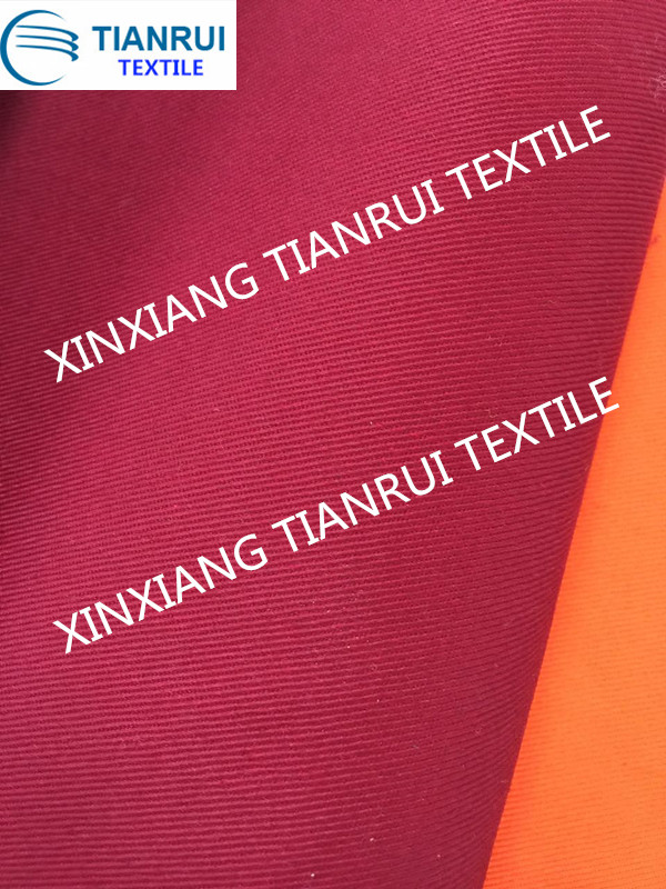 T/C workwear fabric for petrochemical industry