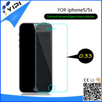 Bling Diamond Blue Light Screen Protector For iPhone 6 Tempered Glass