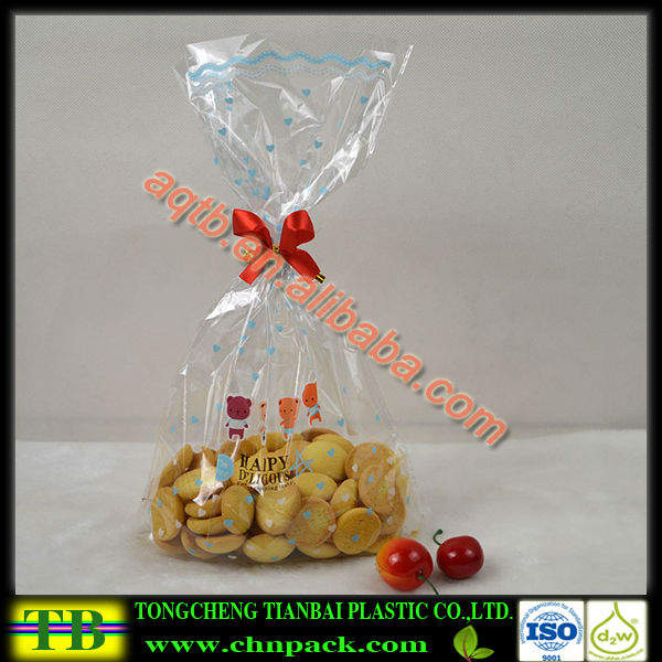 design fashionable clear bread wrapper bag