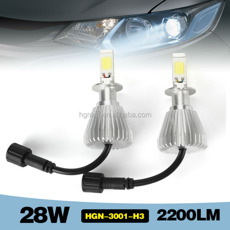 Smart 28W 2200LM plug and play led headlight dodge journey fiat freemont