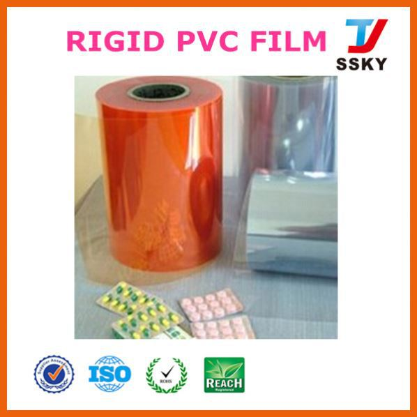 High quality cheap clear pvc uv resistant soft thin plastic film