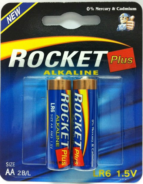 best quality dry cell battery (Rocket brand)