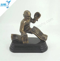Resin Statue Scuplture Trophy Of Ice Hockey Puck Award