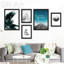 Posters And Prints Wall Art Canvas Painting Cuadros Beach Forest Wall Pictures For Living Room Nordic Poster Art