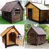 new design wholesale large outdoor wooden dog kennel designs
