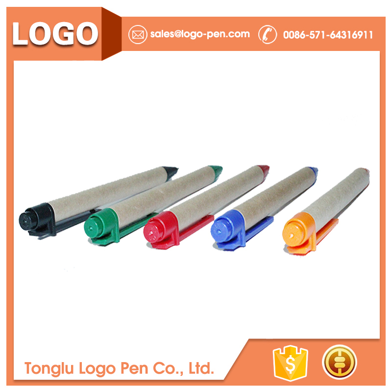 Eco-Friendly recycling and non-toxic promotion pen with roll out paper