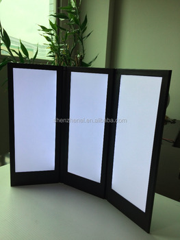 NEW arrives Triple continuous fold led light holders model 3Z1231