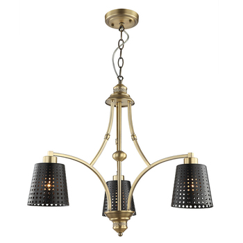 Wholesale new product home lighting 3 lamps Unique Chandelier