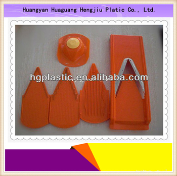 plastic vegetable slicer ,original v slicer with safety holder, v shape slicer,magic slicer