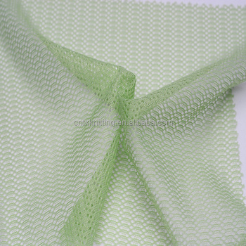 manufacture 100% polyester mesh fabric for uniform lining tear resistant bag fabriic