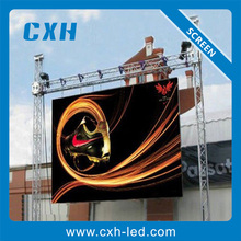 Waterproof P10 outdoor smd full color replacement led tv screen