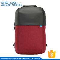 Most popular student school laptop bag computer backpack simple laptop bag