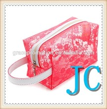 fashion high quality clear PVC cosmetic makeup bag