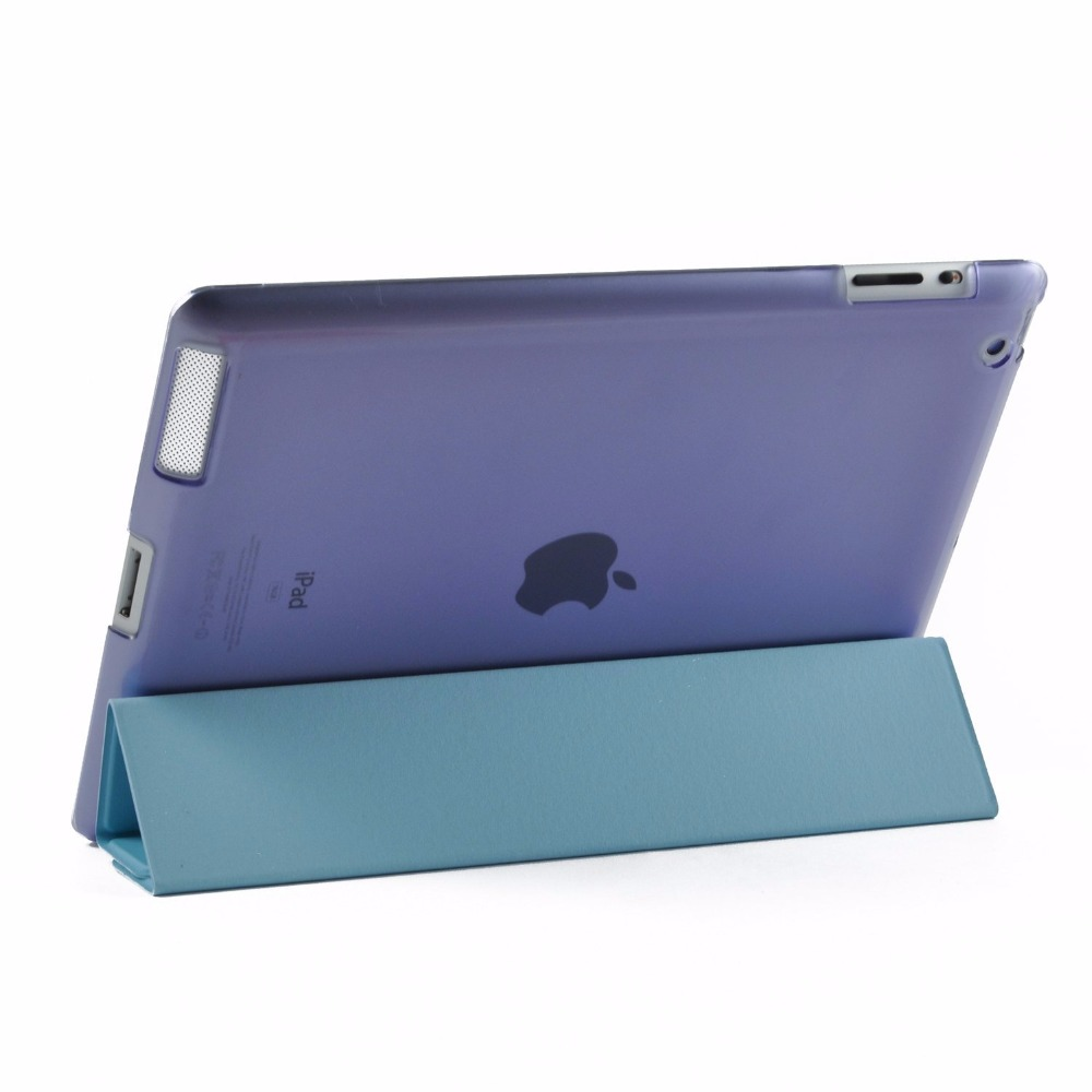 promotion colorful leather case for ipad