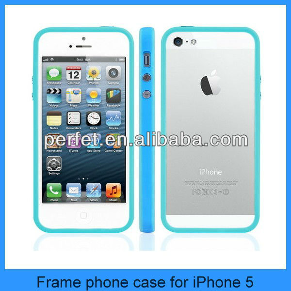 optical frame case for iphone 5 case frame