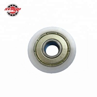 Best selling nylon ball bearing drawer rollers with cheap price and good quality