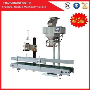 Manual 50kg bags granule / powder weighing packing machine