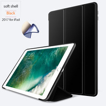 For Apple iPad 9.7 2017 Smart Slim Magnetic Leather Stand Case Cover