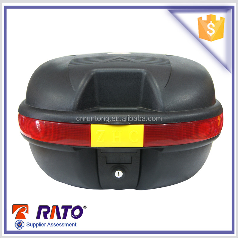 Chinese motorcycle brands colorful top case for sale