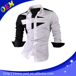 new fashion china promotional mens Indian style dress shirt