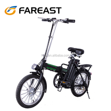 Electric bicycle 16-inch electric bicycle can fold up the bicycle for adult mini