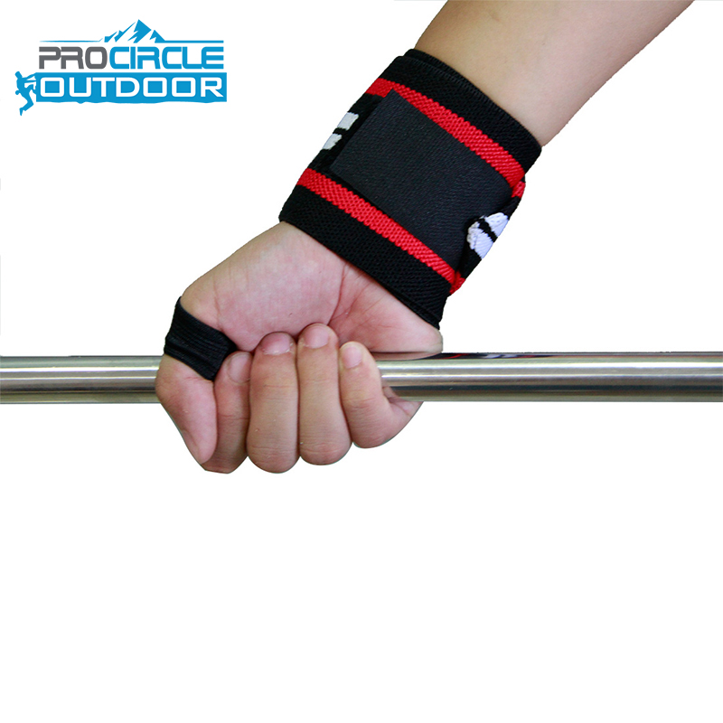 <strong>Weight</strong> Lifting Customized Gym Wrist Straps