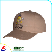 Beige cotton sports hats men little lemon lovely cute heat transfer printing fedora aplique carton anime kid hats baseball daddy