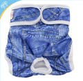 2017 new designs washable dog diaper pet diaper