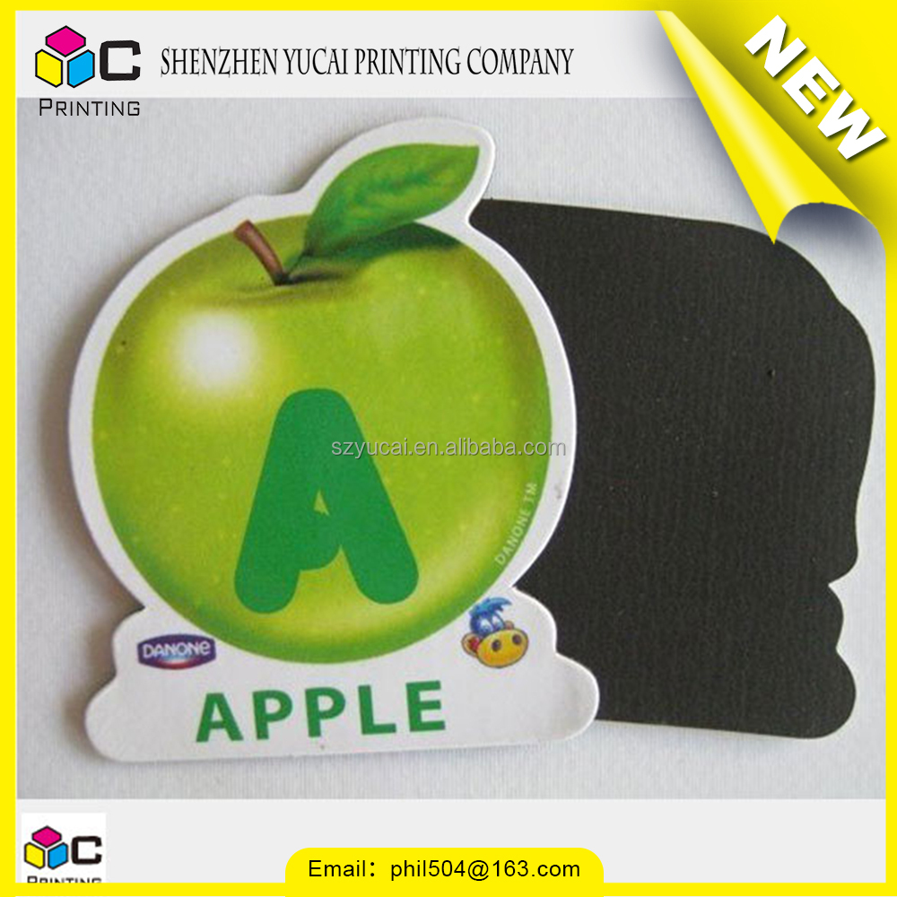 personalized print custom fridge die cut magnet sticker