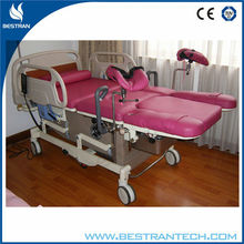 China BT-LD001Cheap hospital electric labor and delivery bed price, birthing bed, maternity bed manufacturer