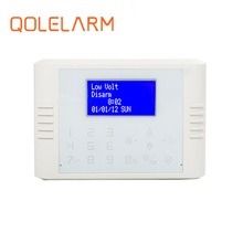 Alarmas hogar, wireless gsm & pstn security system with led display on the panel