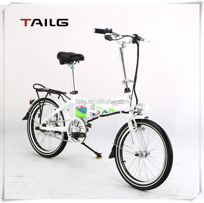 Brushless Motor Green Power Folding Electric Bike Buy