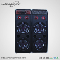 2016 New Business Idea Big Stage Karaoke Home System Design Box Speaker With USB SD FM Remote Mic