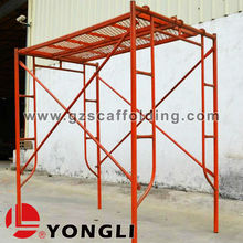 High Quality Mobile H Frame types of Scaffolding System for access platform