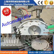 Automatic essential oil/eye shadow/electronic cigarette liquid filling capping machine