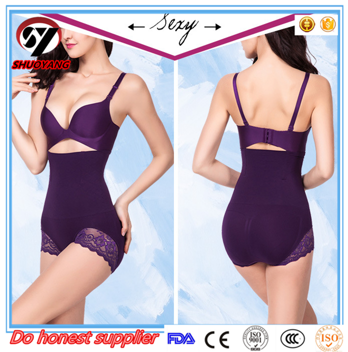 Women compression underwear, female orthopedic up hip,female lace breathable abdomen slimming