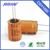 wholesale top quality free sample Electrolytic aluminum capacitor
