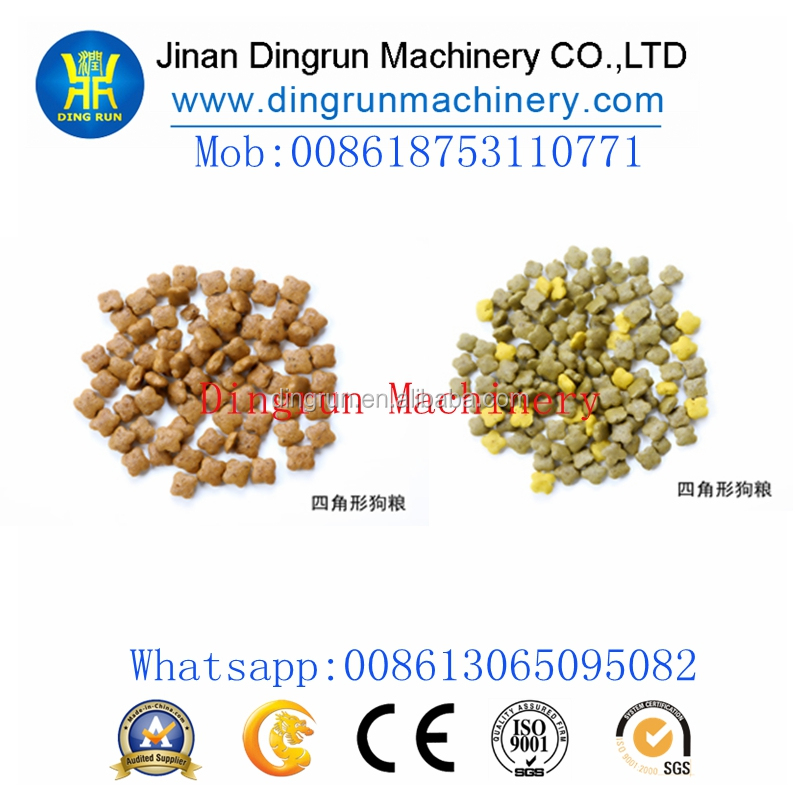 Hot sale Automatic pellet dog food machine/making machine