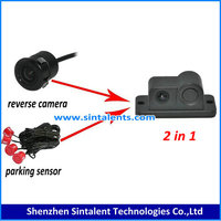 Original Car DVR 5.0 inch Touch Android GPS Navigation WiFi G-Sensor HD 1080P Parking Rearview Mirror DashCam Dual Camera