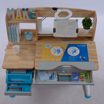 Best Learning Study Desk With Bookshelf And Drawer