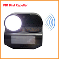 PIR Motion Activated Bird Repeller with Strobe LED Light to Scare Pests Away from Your Yard Lawn Garden