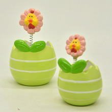Unique design ceramic flower pot wholesale for indoor planting