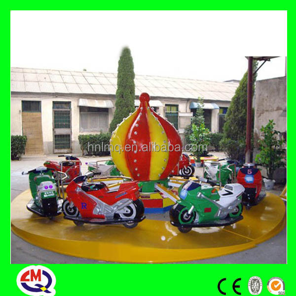 Kiddie attractive outdoor playground electric motorcycle with good quality