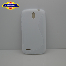 Accessory Phone Case S Shape Tpu Gel Case for Huawei Ascend G610