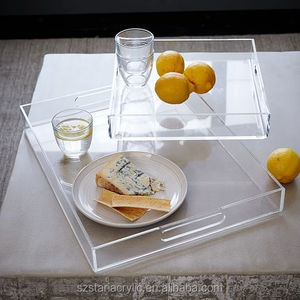 Acrylic Trays,Wholesale High Quality Acrylic Clear Square Tray