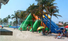 Top Sale Inflatable Commercial Water Slides for Beach