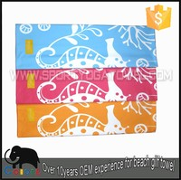 Custom screen printed Double beach towel for family